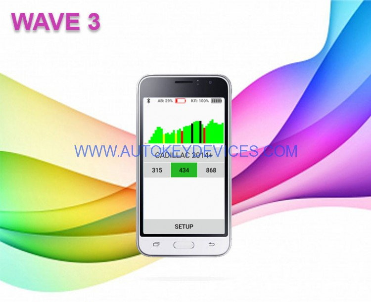 "Smart Key Emergency Start System ""WAVE 3"""